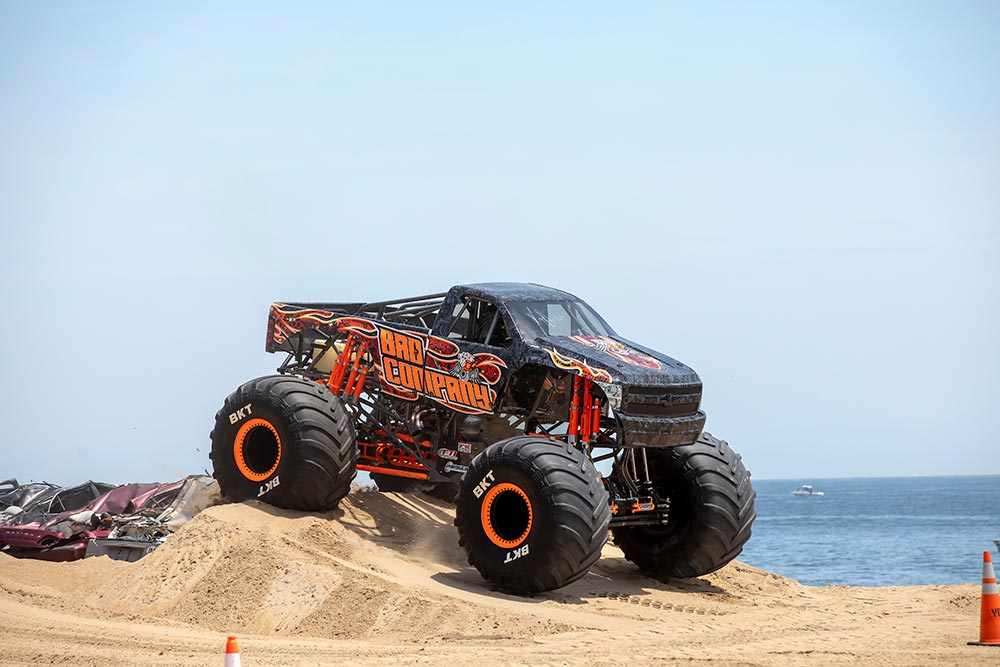 Pungo Offroad Monsters on the Beach Bady Company